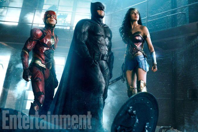 Justice League Batman The flash