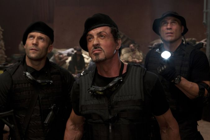 Los indestructibles sylvester stallone