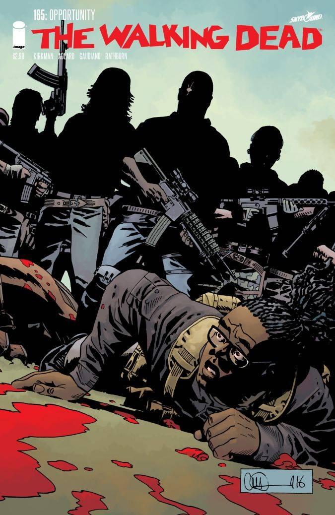 the walking dead 165 comic heath