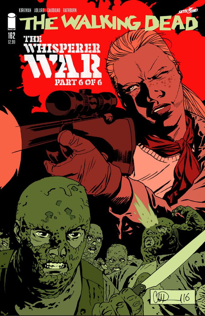 the walking dead 162 comic the whisperer war