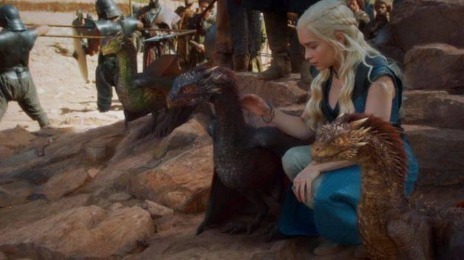 game of thrones daenerys dragones