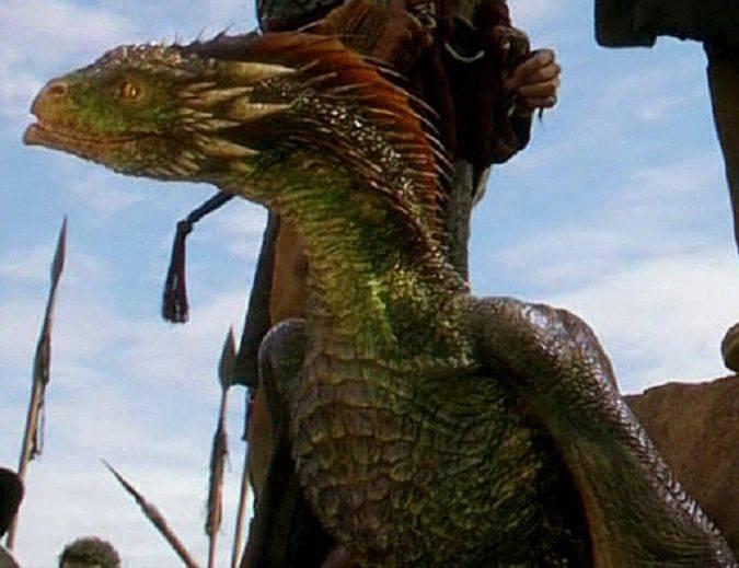 rhaegal dragon game of thrones
