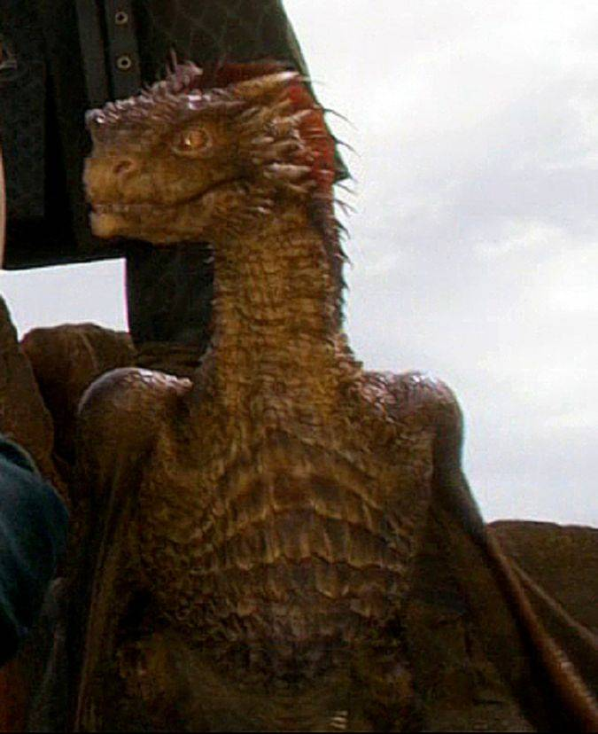 game of thrones viserion dragon