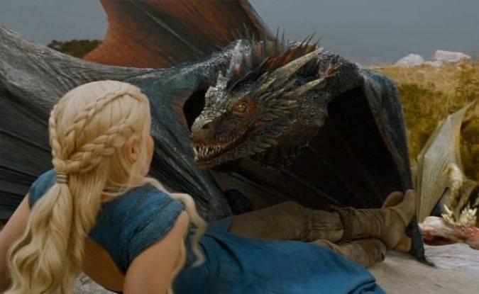 game of thrones drogon dragon