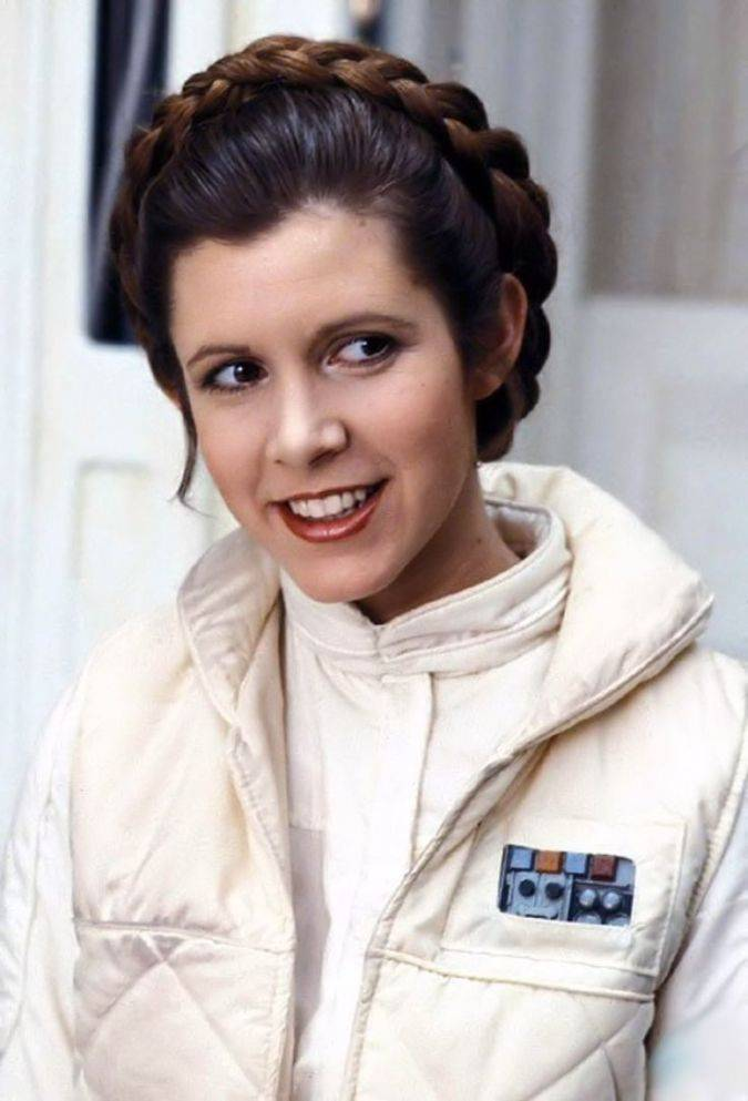carrie fisher actriz princesa leia star wars