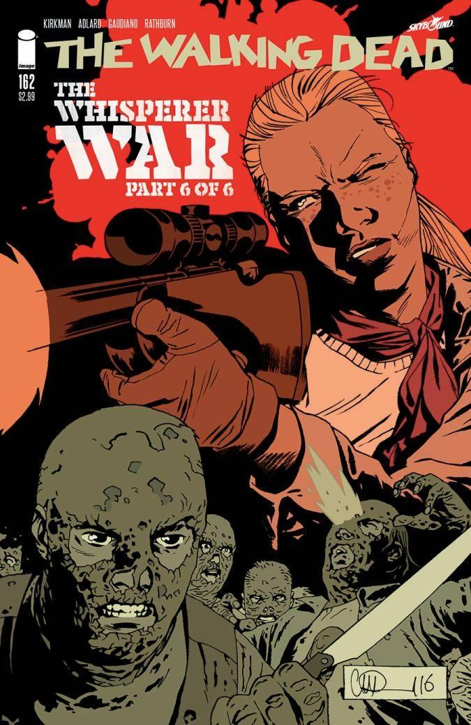 the walking dead 162 comic portada