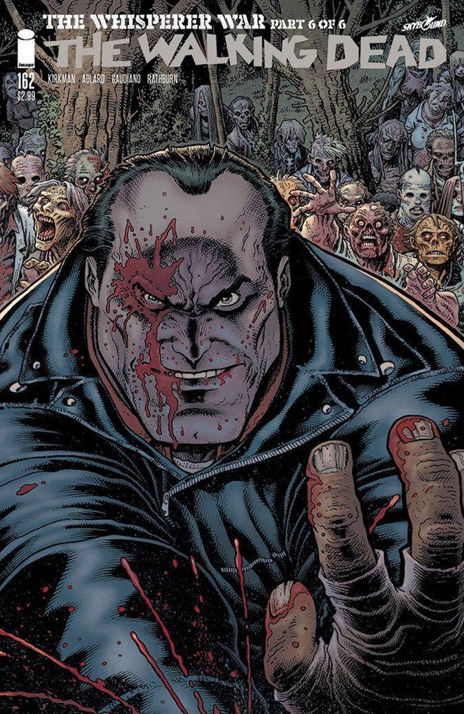 the walking dead 162 comic portada negan