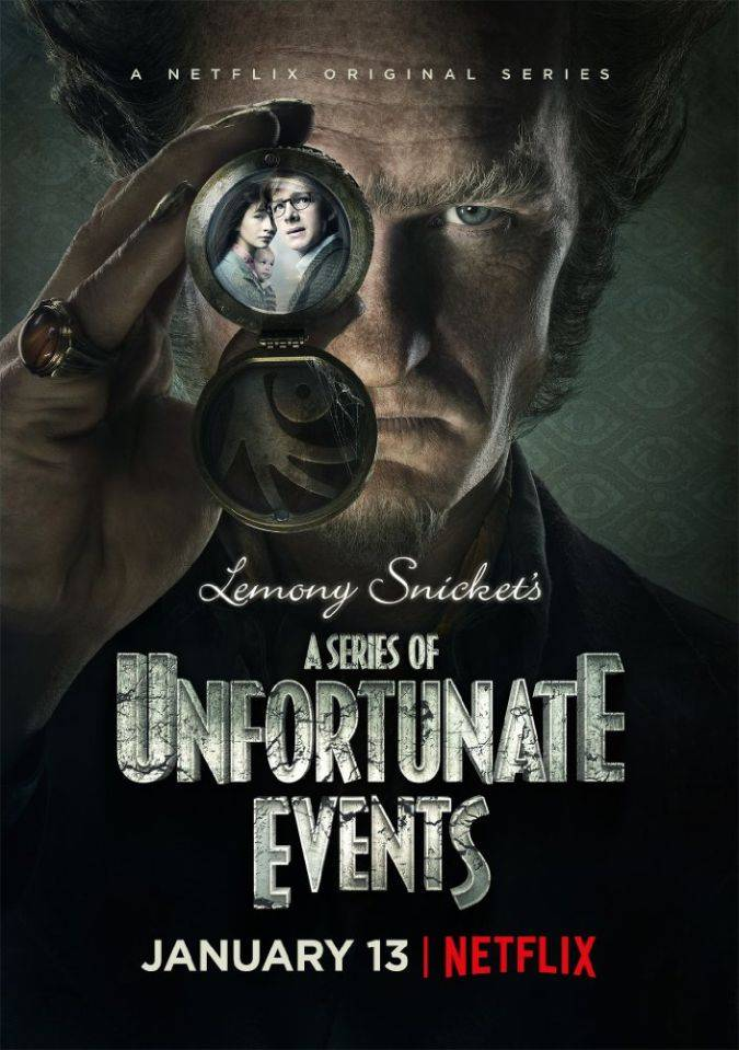 a series of unfortunate events netflix poster