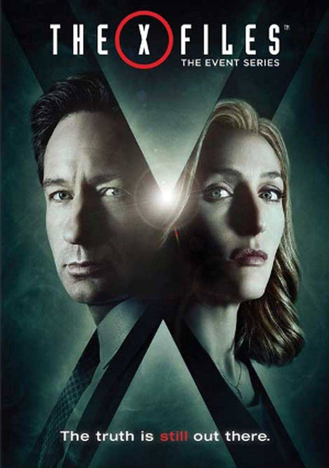 the x-files poster renacimiento mulder scully