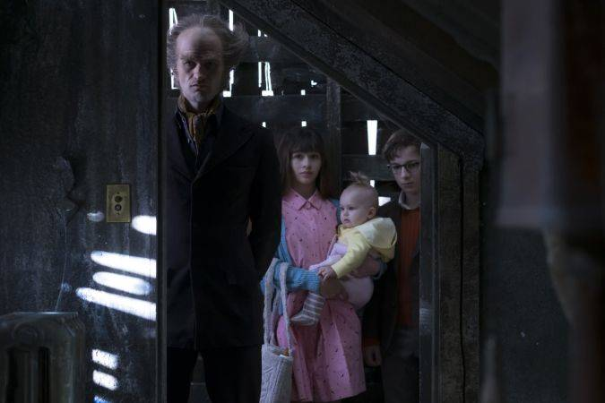 a series of unfortunate events netflix conde olaf baudelaire