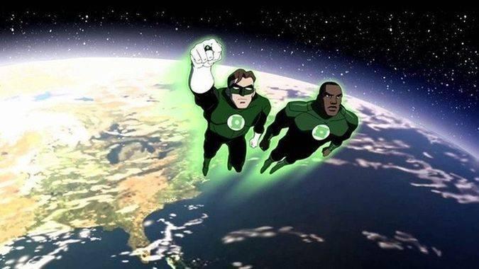 green lantern corps hal jordan john stewart
