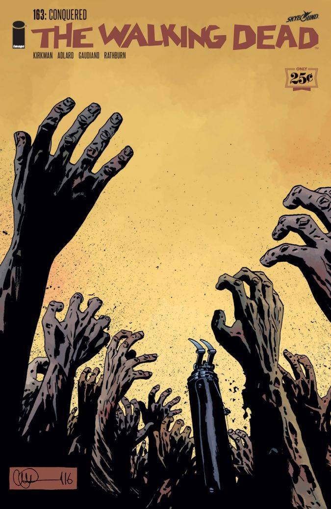 the walking dead 163 comic