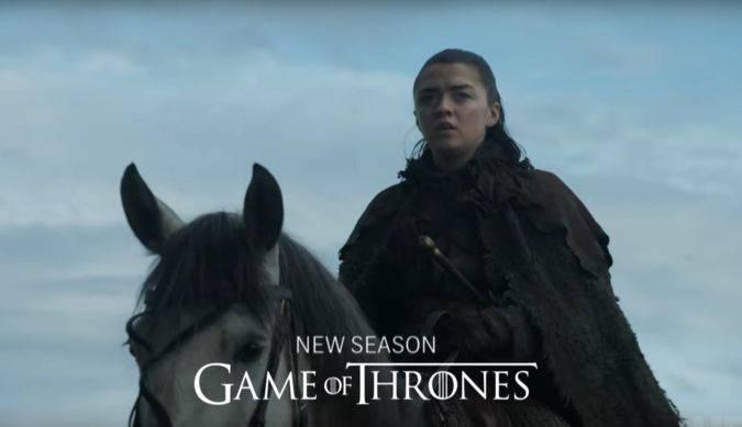 game of thrones temporada 7 arya stark