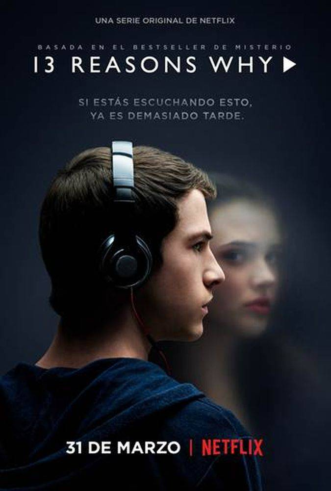 13 reasons why poster serie netflix