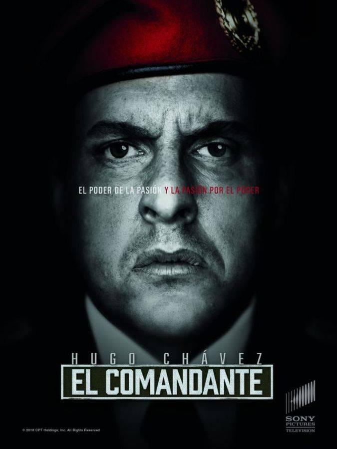 el comandante hugo chavez poster serie tv