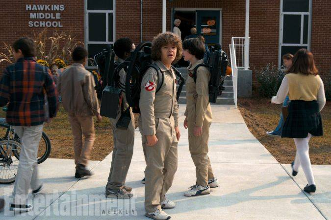 stranger things foto Ghostbusters temporada 2