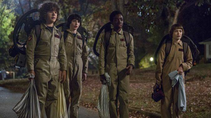 stranger things temporada 2 ghostbusters