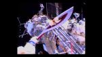 Cosmonautas rusos 'relevan' la antorcha olímpica durante una caminata espacial - Noticias de johnson space center