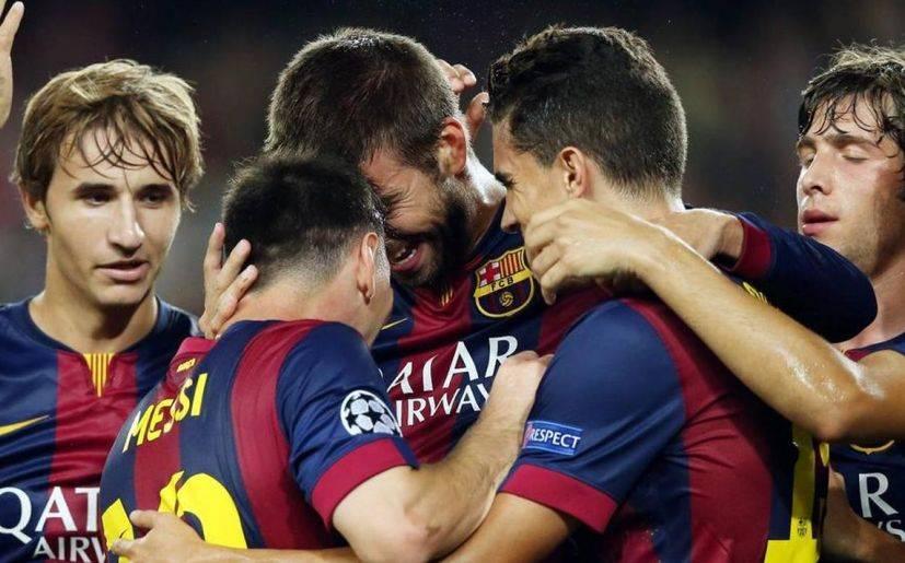 Barcelona sufrió para ganar 1-0 a Apoel en debut en Champions
