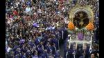 Señor de los Milagros recorre las calles del Centro de Lima - Noticias de huancavelica