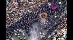 [FOTOS] Señor de los Milagros realiza su cuarto recorrido por calles de Lima - Noticias de cristo moreno