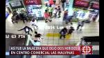 Infernal balacera en centro comercial de Las Malvinas | VIDEO - Noticias de beatriz medina