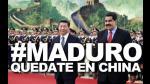 #MaduroQuedateEnChina, el hashtag que es clamor en Venezuela - Noticias de centro comercial