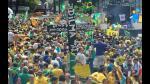 Brasil: Queman local de PT en marcha contra Dilma Rousseff - Noticias de herido de bala