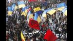 Multitudinaria manifestación por reforma educativa de Bachelet | FOTOS - Noticias de gobierno