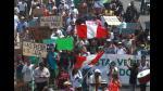 Costa Verde: Protestan contra tercer carril y piedras en playa La Pampilla | FOTOS - Noticias de la pampilla