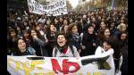 Chile: Estudiantes se enfrentaron a policía en calles de Santiago | FOTOS - Noticias de foto papeletas