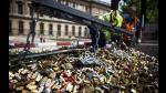 París dijo adiós a los candados del amor - Noticias de federico moccia
