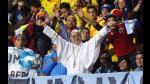 Argentina vs Colombia: Alegría y color en las tribunas - Noticias de mar de copas