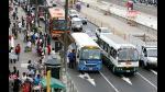 Anuncian retiro de 29 empresas de transporte en Lima - Noticias de ordenanza municipal