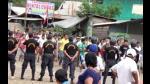 Oxapampa: Un muerto y 9 heridos tras enfrentamiento entre policía y cocaleros - Noticias de paro de policías en bolivia