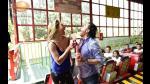 Adal Ramones y Vanessa Huppenkothen tienen una cita extrema en la montaña rusa - Noticias de tallarines