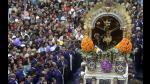 Señor de los Milagros sale en recorrido procesional - Noticias de senor de los milagros