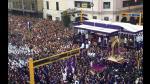 Señor de los Milagros inició su segundo recorrido procesional - Noticias de huancavelica