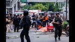 Indonesia: 7 muertos en atentado con la marca de Estado Islámico | FOTOS Y VIDEO - Noticias de muerto en centro comercial