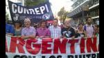 Argentina: así protestan en Buenos Aires contra visita de Barack Obama - Noticias de jorge rafael videla