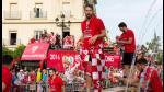 Sevilla celebró a lo grande su quinto título de Europa League - Noticias de madre de dios
