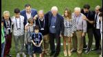Richard Gere presenció entrenamiento de Real Madrid en Milán - Noticias de richard gere