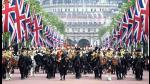 Reina Isabel II celebró sus 90 años con desfile militar en Londres - Noticias de principe guillermo