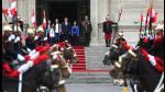 Ollanta Humala presidió su último cambio de guardia en Palacio de Gobierno - Noticias de nadine heredia