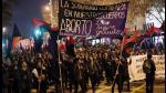 """Chile: así fue la marcha a favor del aborto """"libre, seguro y gratuito"""" - Noticias de valparaiso"""
