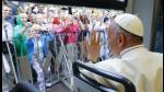 Papa Francisco es aclamado por multitud mientras usa el tranvía de Cracovia - Noticias de jornada mundial de la juventud