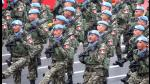 Fiestas Patrias: así fue la Gran Parada y Desfile Militar | FOTOS - Noticias de militar leoncio prado