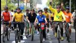 Medio Ambiente: Lima se sube a la bicicleta como alternativa a su congestionado tránsito - Noticias de videos juegos panamericanos 2015