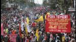 Brasil: miles protestaron contra Michel Temer en Sao Paulo - Noticias de juegos paralimpicos