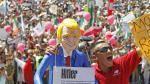 #VibraMéxico: así fue la marcha contra Donald Trump y su muro fronterizo - Noticias de enrique blanco
